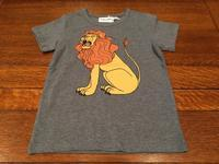 "minirodini""LION SP SS TEE""【3142-1075-1】 - LOB SHOP"