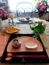 🎎お雛さまのテーブルコーディネート🎎 - coco diary 山口県 お花と絵とテーブルコーディネートレッスン