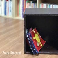 ◇4か月からの絵本#1(我が家の布絵本について) - おうち文庫