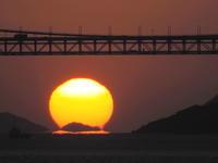 瀬戸の達磨夕陽 - さてもさての見て歩き