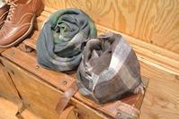 ARMEN Linen Check Stole - JUILLET