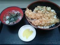175杯目:富士そば徒町駅前店で海鮮天丼 - 富士そば原理主義