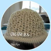 毛糸の帽子♪ - ルーマニアン・マクラメに魅せられて