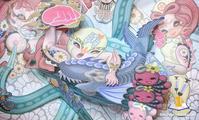 水野純子の飛び出す画集『トライアド』、近日入荷 - 下呂温泉 留之助商店 店主のブログ