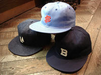 "NEW : EBBETS FIELD FLANNELS [COTTON 6PANEL BALL CAP] ""Small Logo"" !! - HOME TOWN STORE River Side"