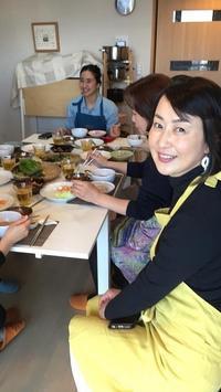 我が家の韓国料理教室福岡出張より東京へもどりました - 今日も食べようキムチっ子クラブ (料理研究家 結城奈佳の韓国料理教室)