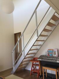 スケルトン階段。 - pupkingの毎日の事