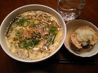 紀文の糖質0g麺 ☆ 今日は卵とじうどん風 - よく飲むオバチャン☆本日のメニュー