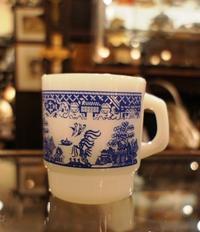 ウィローパターンマグカップ - Antiques&Junk  RoseRing   アンティークス  ローズリング