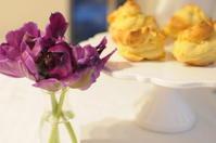 お花の交換 - Chamomile 季節のおやつと日々のこと