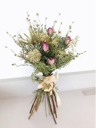 NHKカルチャー町田教室『季節のドライフラワーレッスン』 - driedflower arrangement ✦︎ botanical accessory ✦︎ yukonanai ✦︎ gland*
