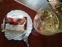 ケーキとシャンパーニュ~♪Pol Roger 2006 - よく飲むオバチャン☆本日のメニュー