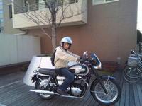 ボンネビルでのラストラン今日お別れして来ました - 60代も元気に楽しむバイクライフ