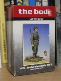 the bodi 35089 Swedish Infantry Soldier (WW2) - 定年後模型日誌