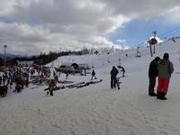 郡上市のスキー場。 - 移動探査基地