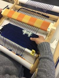 こんな時は、隠し糸を織り込みましょう - 手染めと糸のワークショップ