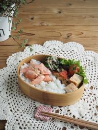 ほぐし焼き鮭弁当 - Delicatusib