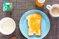 橙マーマレードバタートースト。 - リンゴ3コ分 。