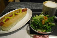 caffe bene(カフェベネ)『ホットドッグセット』 - My favorite things