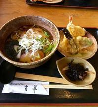石臼碾き手打ち蕎麦・吉草で、15食限定のランチ(さいたま市) - 食べ歩くノート