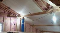シナの勾配天井 - 成長する家 子育て物語