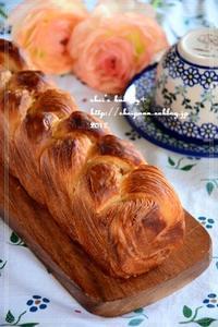 ホシノ天然酵母デニッシュ食パン - *sheipann cafe*