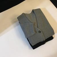 crepuscule Moss stitch cardigan - Lapel/Blog