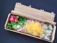 3/3ありものちらし寿司弁当 - ひとりぼっちランチ