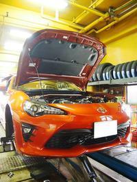 トヨタ86kouki、色々 - 名古屋のタイヤ屋「JY-CLUB」の整備日記