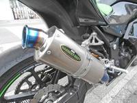 S田サン号 ニンジャ250Rのマフラーを仕様変更♪(Part2) - バイクパーツ買取・販売&バイクバッテリーのフロントロウ!