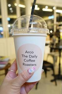 2016年5月 繁忙期真っ只中!癒しの弾丸ソウル vol.10 ~夜カフェはカロスキルで「Coffee Arco」 - 晴れた朝には 改