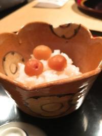 銀座「壬生」 - mahoのテーブルから