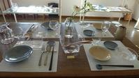 二人展3日目春のテーブルになりました☆ - bonton blog