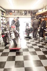 新規開店一回目の授業 - Vintage motorcycle study