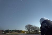 3月4日のカノープスと金星 - お手軽天体写真