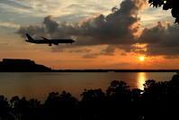 狙いは外れても - 南の島の飛行機日記