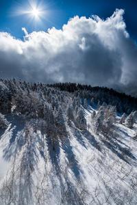 岐阜県高山市 新穂高ロープウェイ 冬 2017.1.5 - 中部地方風景写真