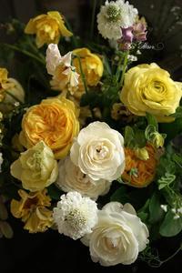 2月のレッスンyellowのコンポジション -  La Fleur