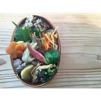 鶏皮炊き込みご飯BENTO - Feeling Cuisine.com