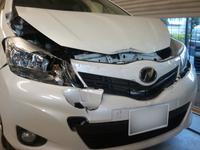 トヨタヴィッツフロント修理 - 自動車生活応援サイト RECOJAPAN