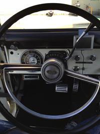 ステアリングホイールの交換 - Early Bronco