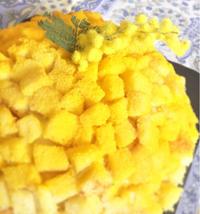 3月8日はFesta della donna、女性にミモザを送る日です。 - 幸せなシチリアの食卓、時々にゃんこ