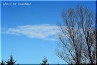 春近し!紺碧の空 - 北海道photo一撮り旅