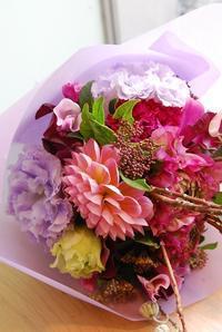 2月の木花フラワーレッスンの続き - 花と暮らす店 木花 Mocca
