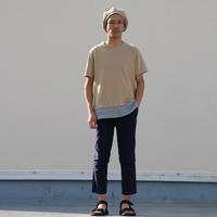 使える半袖カットソー。 - AUD-BLOG:メンズファッションブランド【Audience】を展開するアパレルメーカーのブログ