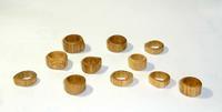 糸のこ木工木の指輪 - 布と木と革FHMO-DESIGNS(エフエッチエムオーデザインズ)Favorite Hand Made Original Designs