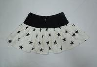 65.星柄のミニスカート(再リメイク) - フリルの子供服