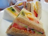 【京橋千疋屋】サンドイッチランチ - お散歩アルバム・・秋日和