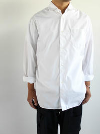 Sans limite WIDE SPREADCOLLAR SHIRT / TRIPLE NEEDLE - 『Bumpkins putting on airs』