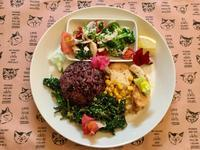 鶏むね肉のヨーグルトソテーワンプレート - カフェ気分なパン教室  ローズのマリ